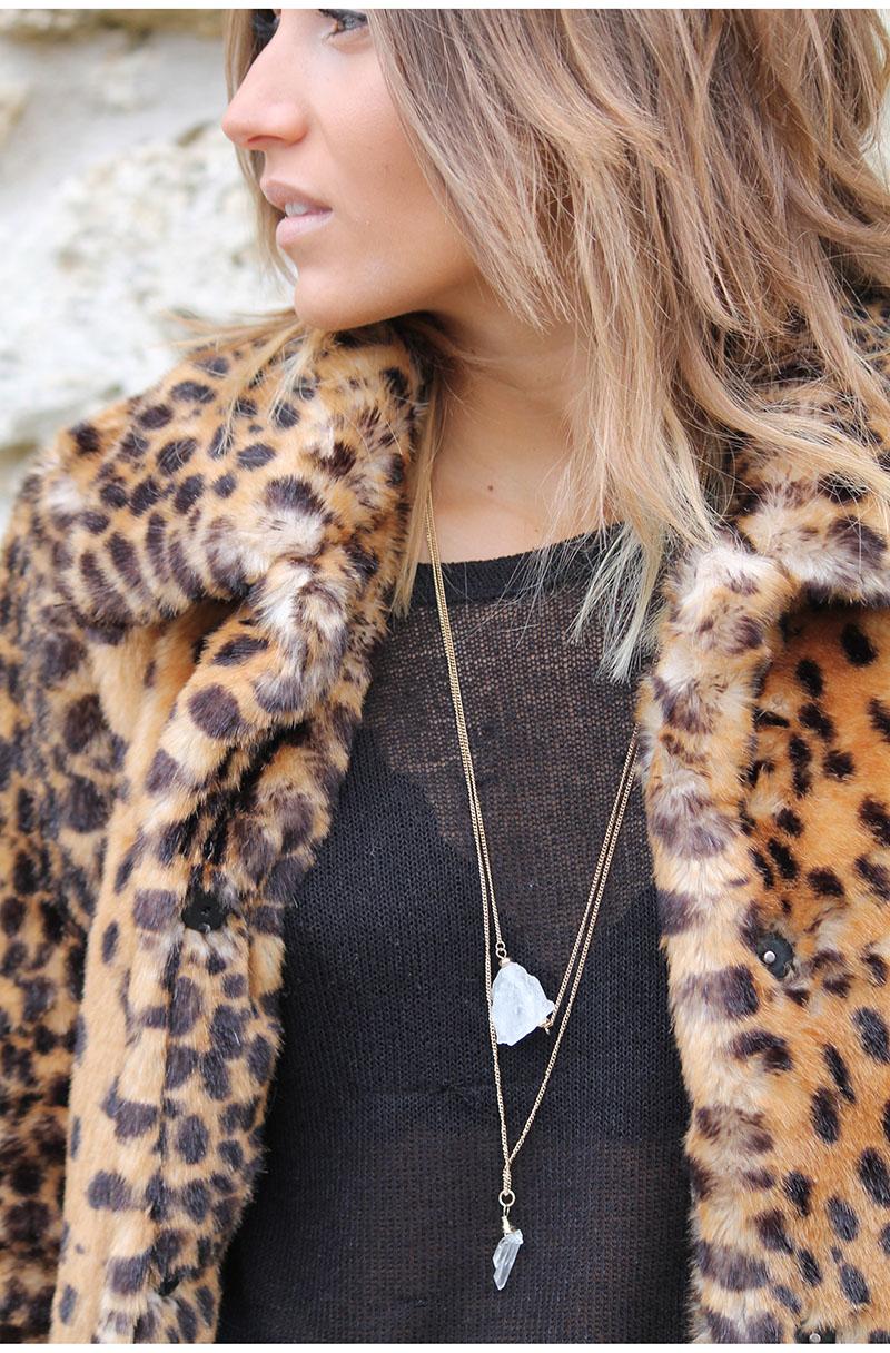 Manteau Leopard N O H O L I T A