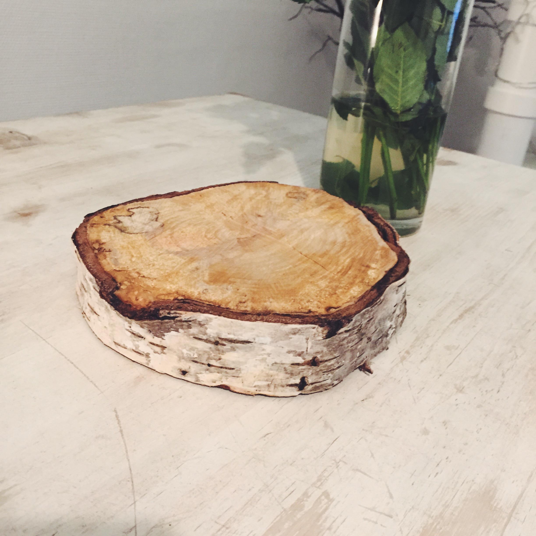 Table Basse Avec Souche D Arbre diy rondins de bois & mes chaises chez happy connection
