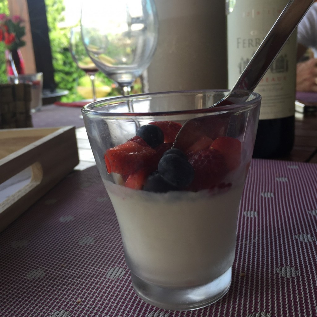 recette light panna cotta