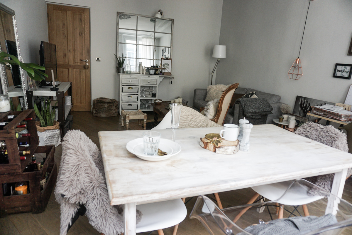 Roomtour decoration salon n o h o l i t a for Deco appartement hiver